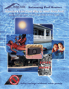 Image of front cover of pool heater brochure