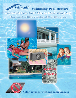 PCS3 Solar Pool Heater Brochure Cover Page
