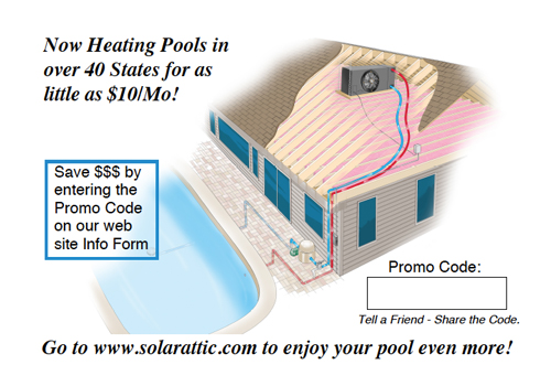 solar pool heater postcard backside